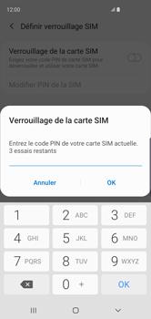 Samsung Galaxy S10 - Prise en main - Comment activer un code SIM - Étape 8