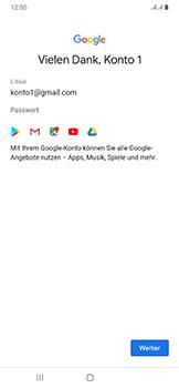Samsung Galaxy A50 - Apps - Einrichten des App Stores - Schritt 17