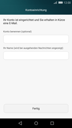 Huawei P8 Lite - E-Mail - Konto einrichten - 1 / 1