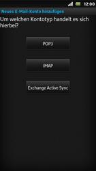Sony Xperia U - E-Mail - Konto einrichten - Schritt 7