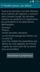 Samsung Galaxy S 5 - Téléphone mobile - Réinitialisation de la configuration d