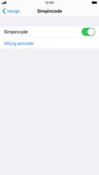 Apple iPhone 7 - iOS 13 - Beveiliging - pas de pincode voor je simkaart aan - Stap 12