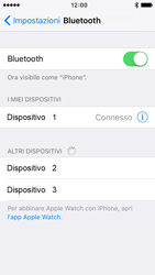 Apple iPhone 5 iOS 9 - Bluetooth - Collegamento dei dispositivi - Fase 6