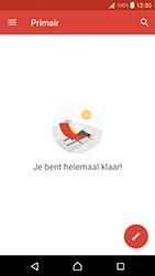Sony Xperia XZ Premium - E-mail - handmatig instellen (gmail) - Stap 16