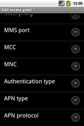 Alcatel OT-991 Smart - MMS - Manual configuration - Step 13