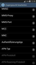 Samsung Galaxy S III Neo - MMS - Manuelle Konfiguration - 1 / 1