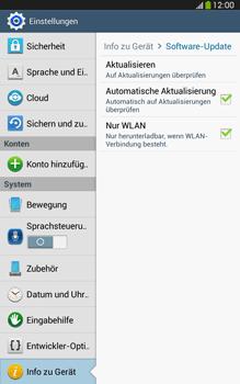 Samsung Galaxy Tab 3 8-0 LTE - Software - Installieren von Software-Updates - Schritt 7