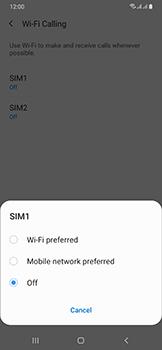 Samsung Galaxy A50 - WiFi - Enable WiFi Calling - Step 8