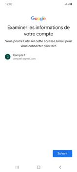 Samsung Galaxy Note20 - Applications - Créer un compte - Étape 15