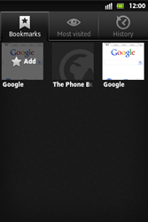 Sony ST27i Xperia Go - Internet - Internet browsing - Step 11