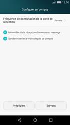 Huawei P8 Lite - E-mails - Ajouter ou modifier un compte e-mail - Étape 19