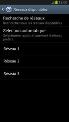 Samsung Galaxy S III LTE - Réseau - Sélection manuelle du réseau - Étape 8