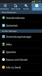 Samsung Galaxy S 4 Mini LTE - Apps - Eine App deinstallieren - Schritt 5