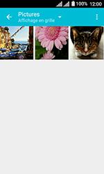 Alcatel U3 - Photos, vidéos, musique - Envoyer une photo via Bluetooth - Étape 5