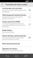 Huawei Ascend P7 - Internet - configuration manuelle - Étape 6