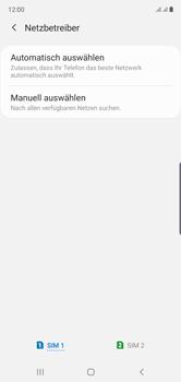 Samsung Galaxy Note 10 - Netzwerk - Manuelle Netzwerkwahl - Schritt 8