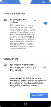 Huawei P20 - Apps - Konto anlegen und einrichten - 15 / 17