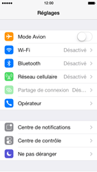 Apple iPhone 5 iOS 7 - Bluetooth - Jumelage d