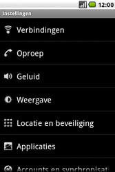 LG GW620 - Wifi - handmatig instellen - Stap 4