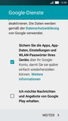 Huawei Y5 - Apps - Einrichten des App Stores - Schritt 16