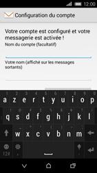 HTC Desire 320 - E-mail - Configuration manuelle - Étape 19