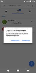Sony Xperia XZ2 Compact - Anrufe - Anrufe blockieren - Schritt 6