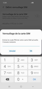 Samsung Galaxy S10 Plus - Prise en main - Comment activer un code SIM - Étape 8