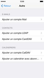 Apple iPhone 5c - E-mails - Ajouter ou modifier un compte e-mail - Étape 6
