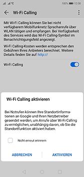 Huawei P20 - Android Pie - WiFi - WiFi Calling aktivieren - Schritt 8