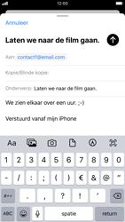 Apple iPhone 7 - iOS 13 - E-mail - e-mail versturen - Stap 7