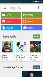 Huawei Y5 - Apps - Einrichten des App Stores - Schritt 19