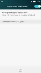 Huawei Y5 - Internet et connexion - Partager votre connexion en Wi-Fi - Étape 11