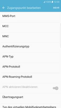 Samsung G928F Galaxy S6 edge+ - Android M - Internet - Manuelle Konfiguration - Schritt 13