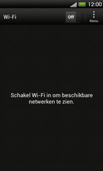 HTC T320e One V - wifi - handmatig instellen - stap 5