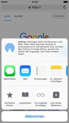 Apple iPhone 6 iOS 10 - Internet und Datenroaming - Verwenden des Internets - Schritt 6