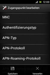 Sony Xperia Miro - MMS - Manuelle Konfiguration - Schritt 15
