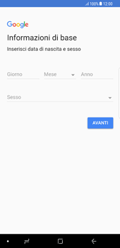 Samsung Galaxy Note 8 - Applicazioni - Configurazione del negozio applicazioni - Fase 7