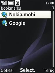 Nokia 3720 classic - internet - hoe te internetten - stap 8