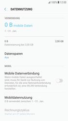 Samsung Galaxy S6 - Android Nougat - Internet und Datenroaming - Prüfen, ob Datenkonnektivität aktiviert ist - Schritt 6