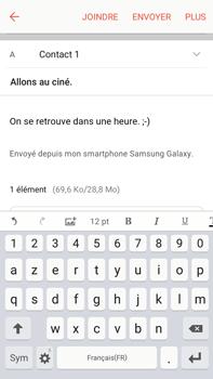 Samsung Samsung Galaxy J7 (2016) - E-mails - Envoyer un e-mail - Étape 18