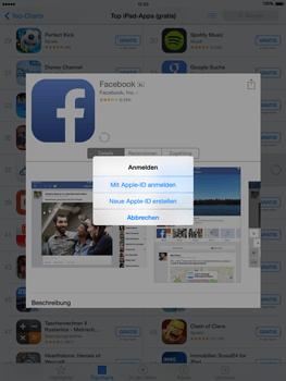 Apple iPad Air iOS 8 - Apps - Einrichten des App Stores - Schritt 8