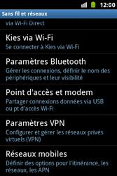 Samsung S7500 Galaxy Ace Plus - MMS - configuration manuelle - Étape 6