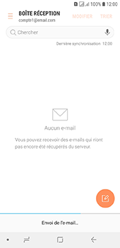 Samsung Galaxy J6 - E-mails - Envoyer un e-mail - Étape 19