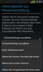 Samsung S7275 Galaxy Ace 3 - Apps - Konto anlegen und einrichten - Schritt 14