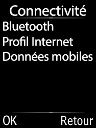 Doro 6620 - Internet et connexion - Désactiver la connexion Internet - Étape 5