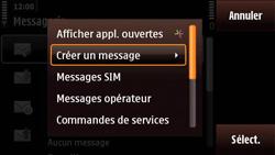 Nokia N97 Mini - E-mail - envoyer un e-mail - Étape 4
