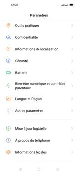 Oppo Reno 4 Pro - Sécuriser votre mobile - Personnaliser le code PIN de votre carte SIM - Étape 4