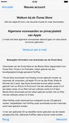 Apple iPhone 6 Plus (iOS 8) - apps - account instellen - stap 11