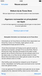 Apple iPhone 6 Plus (Model A1524) - Applicaties - Account aanmaken - Stap 11