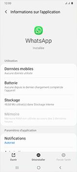 Samsung Galaxy A41 - Applications - Supprimer une application - Étape 6